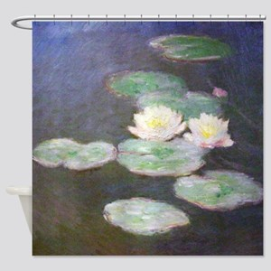 Monet Water Lillies Shower Curtain