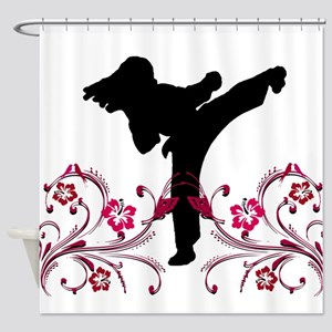 Martial Arts Shower Curtain