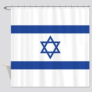 Israel Shower Curtain