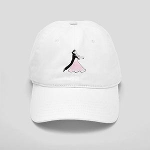 Couple dancing silhouette Cap