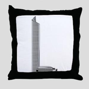 CTF finance center skyscraper city Throw Pillow