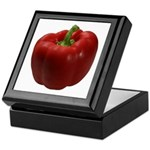 Red Bell Pepper Keepsake Box