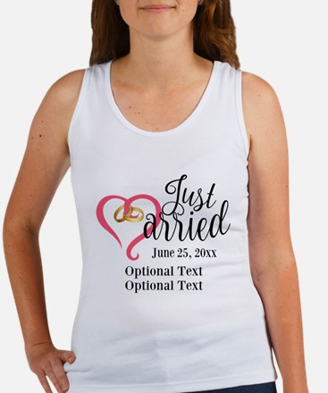 Just Married Custom Women's Tank Top