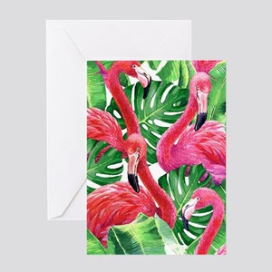 Flamingo Greeting Cards