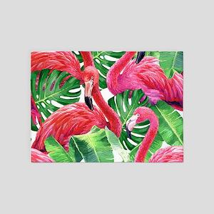 Flamingo 5'x7'Area Rug