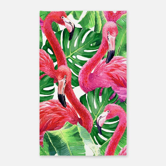 Flamingo Area Rug
