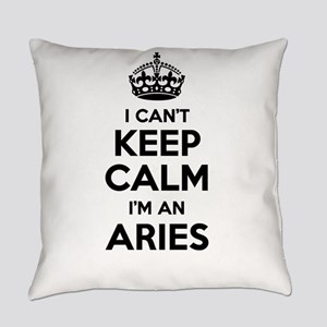 I can't keep calm Im ARIES Everyday Pillow