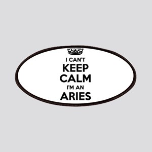 I can't keep calm Im ARIES Patch