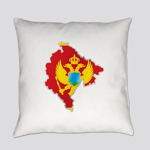 National territory and flag Monten Everyday Pillow
