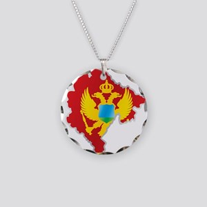 National territory and flag Necklace Circle Charm