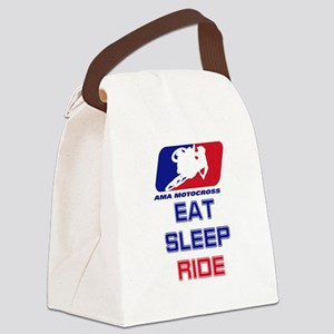 2-Eatsleepride copy Canvas Lunch Bag