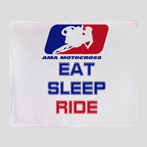 2-Eatsleepride copy Throw Blanket