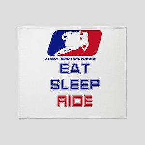 2-Eatsleepride copy.png Throw Blanket