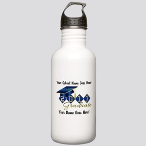 Graduate Blue 2017 Stainless Water Bottle 1.0L