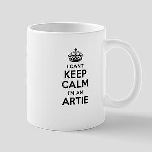 I can't keep calm Im ARTIE Mugs