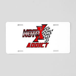 MOTOXAddict Aluminum License Plate