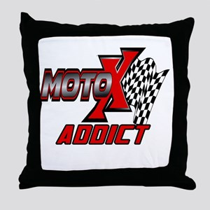 MOTOXAddict Throw Pillow