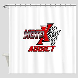 MOTOXAddict Shower Curtain