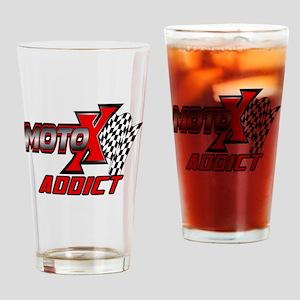 MOTOXAddict Drinking Glass