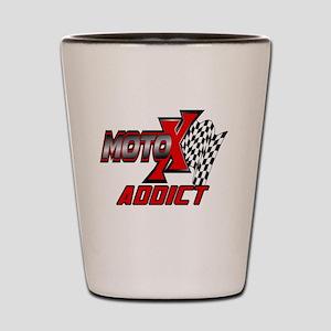 MOTOXAddict Shot Glass