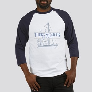 Turks and Caicos - Baseball Jersey