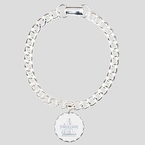 Turks and Caicos - Charm Bracelet, One Charm