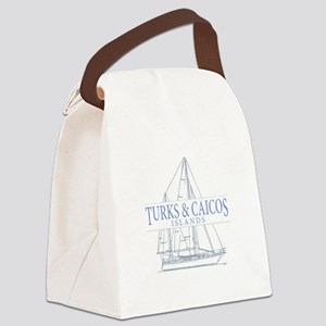 Turks and Caicos - Canvas Lunch Bag