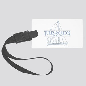 Turks and Caicos - Large Luggage Tag