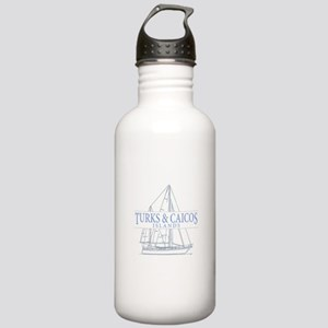 Turks and Caicos - Stainless Water Bottle 1.0L