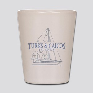Turks and Caicos - Shot Glass
