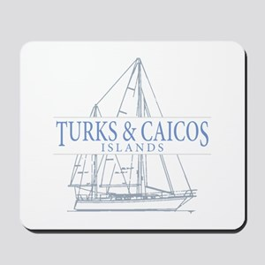 Turks and Caicos - Mousepad