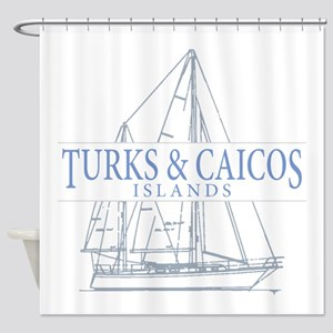 Turks and Caicos - Shower Curtain