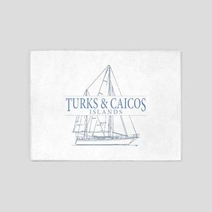 Turks and Caicos - 5'x7'Area Rug
