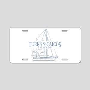 Turks and Caicos - Aluminum License Plate