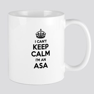 I can't keep calm Im ASA Mugs