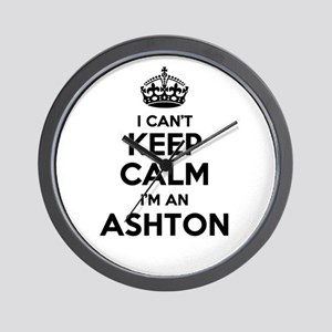 I can't keep calm Im ASHTON Wall Clock