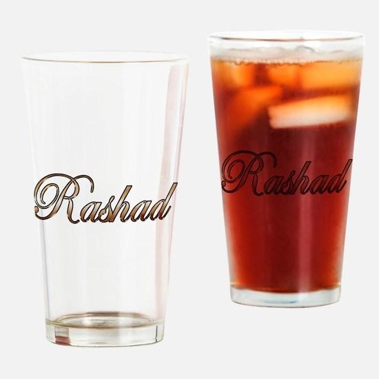 Cute Rashad Drinking Glass