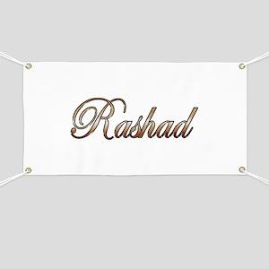 Gold Rashad Banner