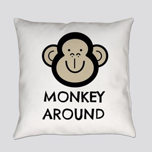 Monkey Around Everyday Pillow