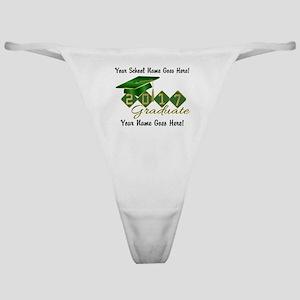 Graduate Green 2017 Classic Thong