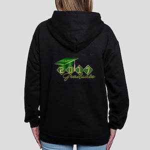 Graduate Green 2017 Women's Zip Hoodie