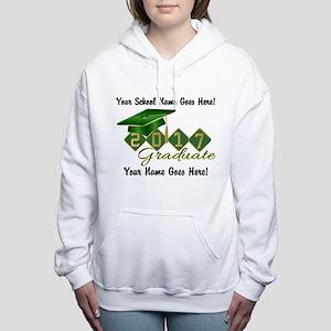 Graduate Green 2017 Women's Hooded Sweatshirt