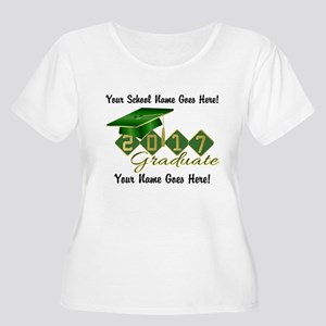 Graduate Gree Women's Plus Size Scoop Neck T-Shirt