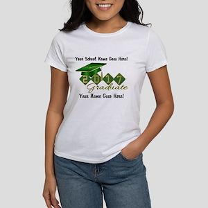 Graduate Green 2017 Women's Classic White T-Shirt