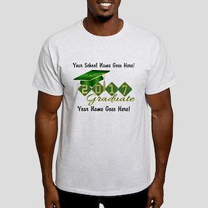 Graduate Green 2017 Light T-Shirt