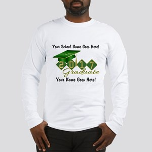 Graduate Green 2017 Long Sleeve T-Shirt
