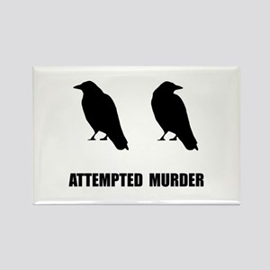 Attempted Murder Of Crows Magnets