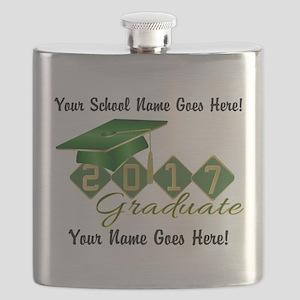Graduate Green 2017 Flask