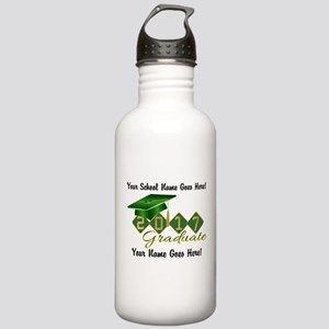 Graduate Green 2017 Stainless Water Bottle 1.0L