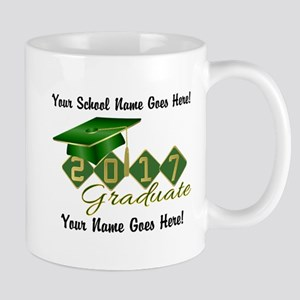 Graduate Green 2017 Mug